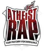 atheist rap logo